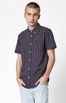 RVCA That'll Do Plaid Short Sleeve Button Up Shirt