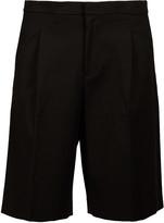 Plac Snap Detailed Bermuda Shorts