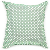Jonathan Adler Mayfair Green Sham Set - Euro