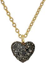 Finn Women's Black-Diamond Heart Necklace