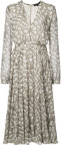 Derek Lam printed V-neck dress - women - Silk - 36