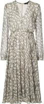 Derek Lam printed V-neck dress