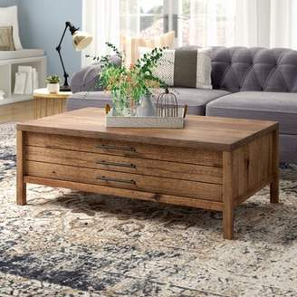 Laurèl Foundry Modern Farmhouse Odile Coffee Table with Storage Foundry Modern Farmhouse