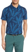 Bonobos Men's Flatiron Slim Fit Print Pique Golf Polo