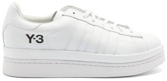 Y-3 Hicho Leather Trainers - White