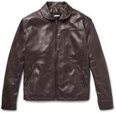 Tomas Maier Retro Leather Jacket