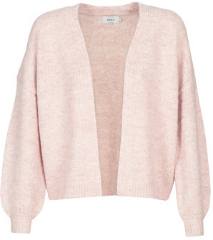 Only ONLZOEY women's Cardigans in Pink