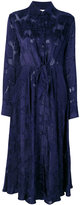Diane von Furstenberg sheer shirt dress - women - Viscose - VI
