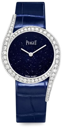 Piaget White Gold and Diamond Limelight Gala Watch 32mm