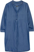 Enza Costa Henley Tencel shirt dress