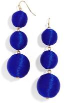 BaubleBar Fluoro Crispin Ball Drop Earrings