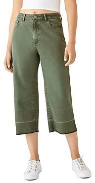 DL1961 Dl Hepburn Crop Wide-Leg Jeans in Amalfi