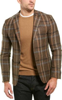 Ermenegildo Zegna Checked Wool Jacket
