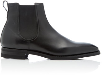 Bally Scavone Leather Chelsea Boots