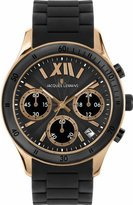Jacques Lemans Men's 1-1586Q Rome Sports Sport Analog Chronograph with Silicone Strap Watch
