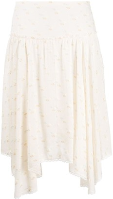 See by Chloe Asymmetric Design Skirt