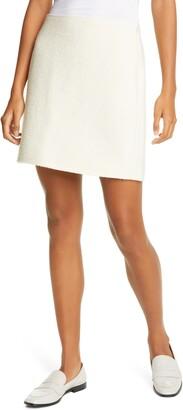 Club Monaco Centie Knit Houndstooth Skirt