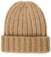 Topman Chunky Camel Beanie Hat