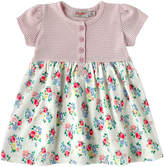 Cath Kidston Rosy Posy Baby Girls Short Sleeve Jersey Dress