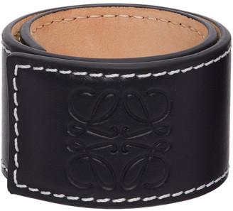 Loewe Black Small Slap Bracelet