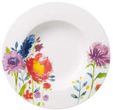 Villeroy & Boch Anmut Flowers Rim Soup