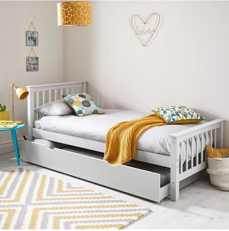 Novara Kids Single Bed Framewith Optional Mattress (Buy and SAVE!) Excludes Trundle