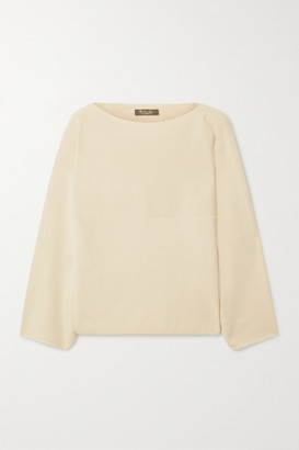 Loro Piana Cubetto Canary Cashmere Sweater - Off-white