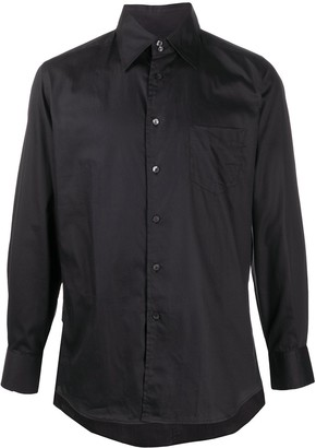 Dolce & Gabbana Long-Sleeve Cotton Shirt