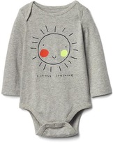 Gap Graphic long sleeve bodysuit