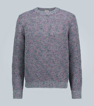 Acne Studios Kurik melange cotton-blend sweater