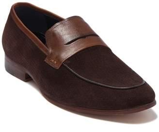Bally Levine Suede Penny Loafer