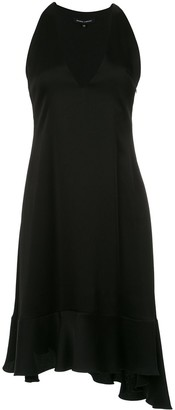 Gloria Coelho A-line midi dress