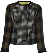 Etro gingham check jacket - women - Silk/Polyamide/Acetate/Wool - 42
