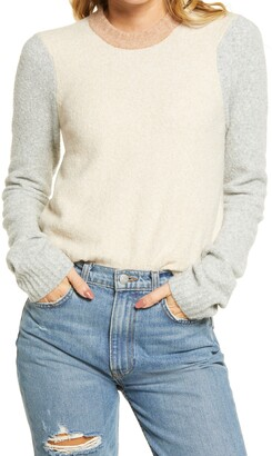 Faherty Summit Colorblock Sweater