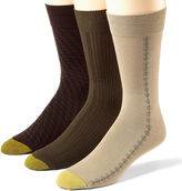 Gold Toe 3-pk. Dress Rayon from Bamboo Crew Socks