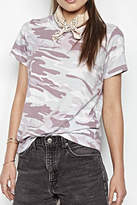 Michael Lauren Cliff Classic Camo Top
