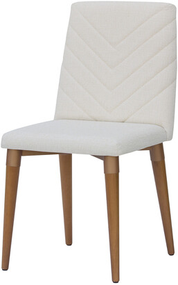 Manhattan Comfort Utopia Chevron Dining Chair