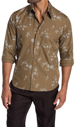 Helmut Lang Printed Shirt Jacket