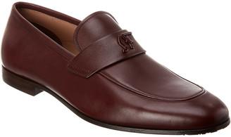 Salvatore Ferragamo Silas Signature Leather Loafer