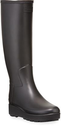 Hunter Refined Creeper Tall Rain Boots