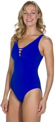 Speedo Opalgleam 1-Piece Pool Swimsuit