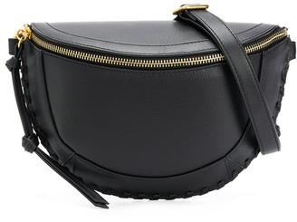 Isabel Marant Zipped Leather Belt Bag