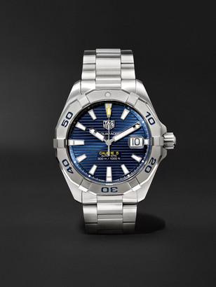 Tag Heuer Aquaracer Automatic 40.5mm Steel Watch, Ref. No. Wbd2112.ba0928
