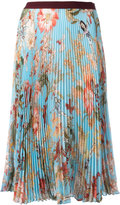 I'M Isola Marras floral print pleated skirt - women - Polyester - 40