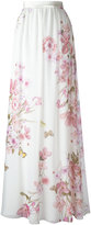 Giambattista Valli floral print skirt - women - Silk/Cotton/Viscose - 42