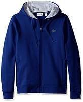 Lacoste Men's Sport Full Zip Hoodie Fleece Sweatshirt