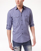 INC International Concepts Men's Checked Long-Sleeve Shirt, Only at Macy's