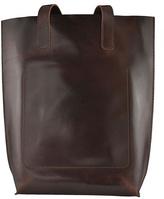 Kiko Leather Leather Structure Tote