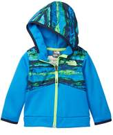 The North Face Print Hooded Front Zip Jacket (Baby Boys)