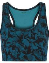 Yummie by Heather Thomson Venus Printed Cotton-Blend Bra Top